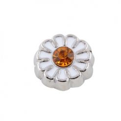 Daisy Flower floating charm