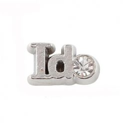 Ido wedding floating charm for locket necklace pandent