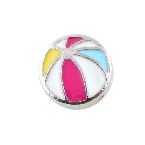 beach ball floating charm