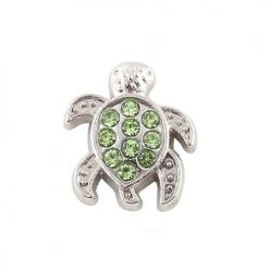 Crystal Tortoise Floating Charm